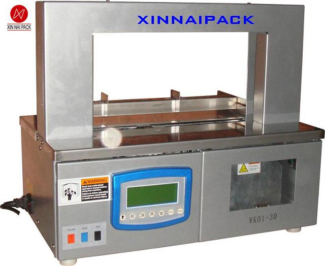 Automatic bank-note packing machine